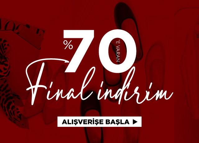 Sezon Finali %70'e varan İNDİRİM!