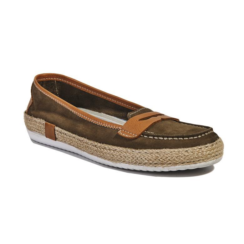 Mespilus Deri Kadın Günlük Ayakkabı 2010040801001