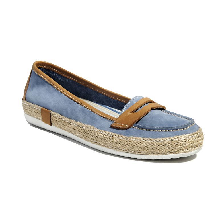 Mespilus Deri Kadın Günlük Ayakkabı
