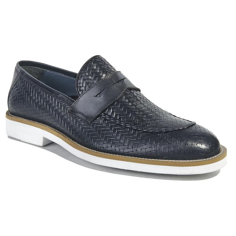 Floyd Erkek Deri Günlük Ayakkabı 2010040868011