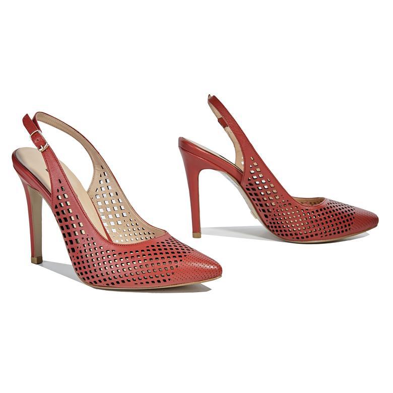Vanilli Kadın Deri Klasik Topuklu Ayakkabı 2010040917001