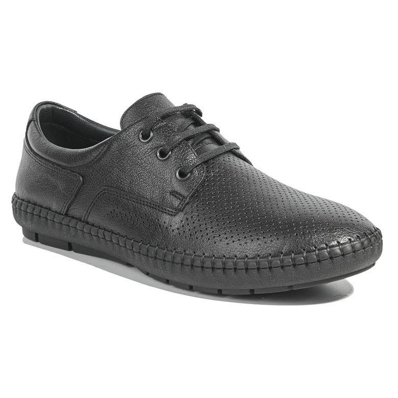 Plat Erkek Deri Günlük Ayakkabı