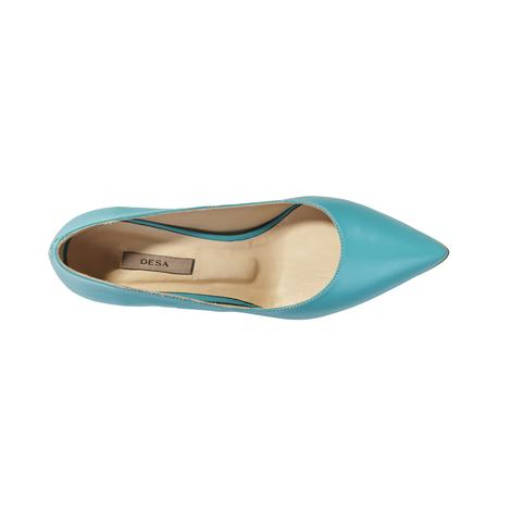 Barre Deri Kadın Klasik Topuklu Ayakkabı 2010040977009