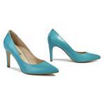 Barre Deri Kadın Klasik Ayakkabı