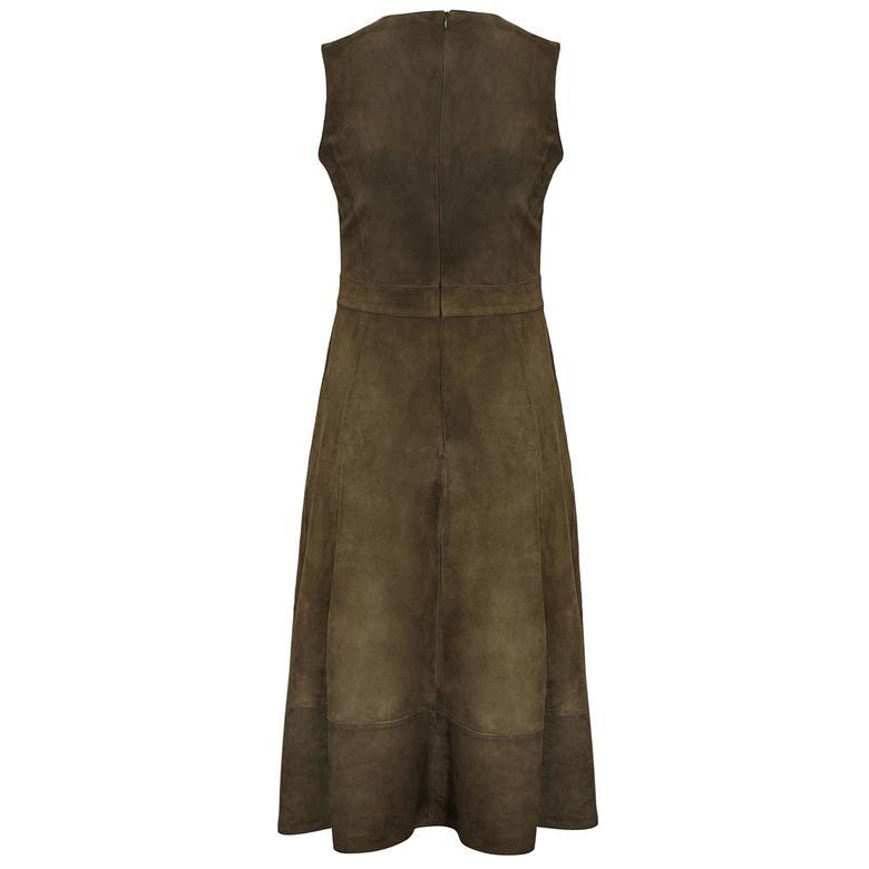 Lambertia Kadın Süet Elbise