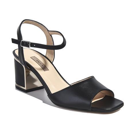 Kadın Topuklu Deri Sandalet 2010041411007