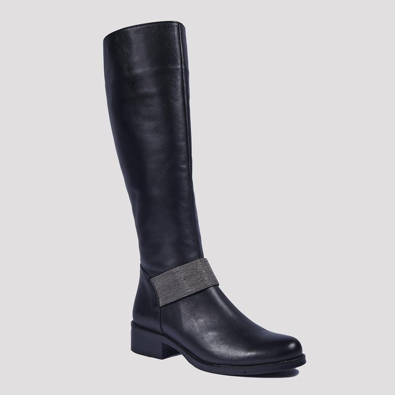 Eden Kadın Deri Çizme