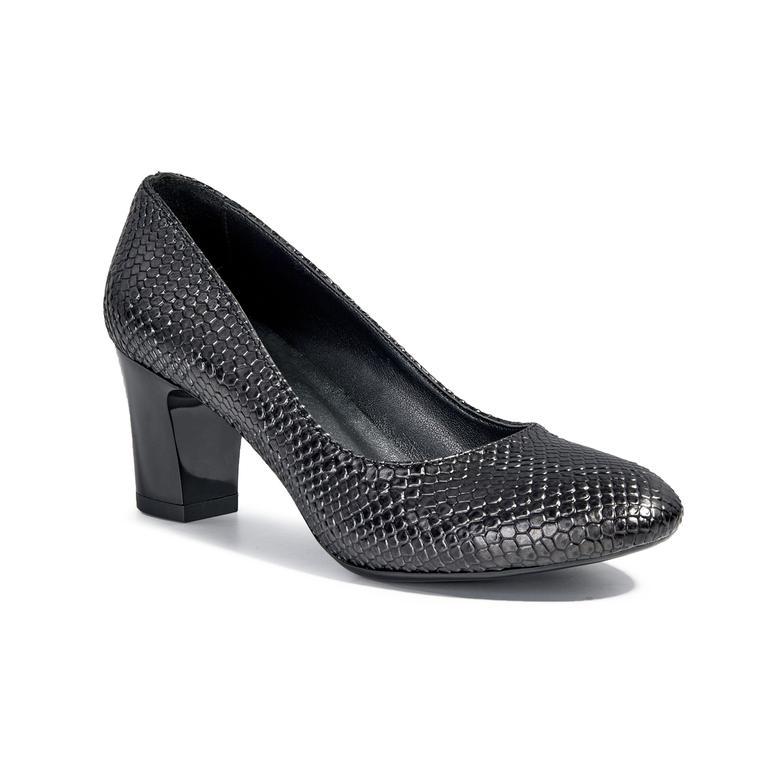 Vatoz Baskılı Kadın Klasik Ayakkabı