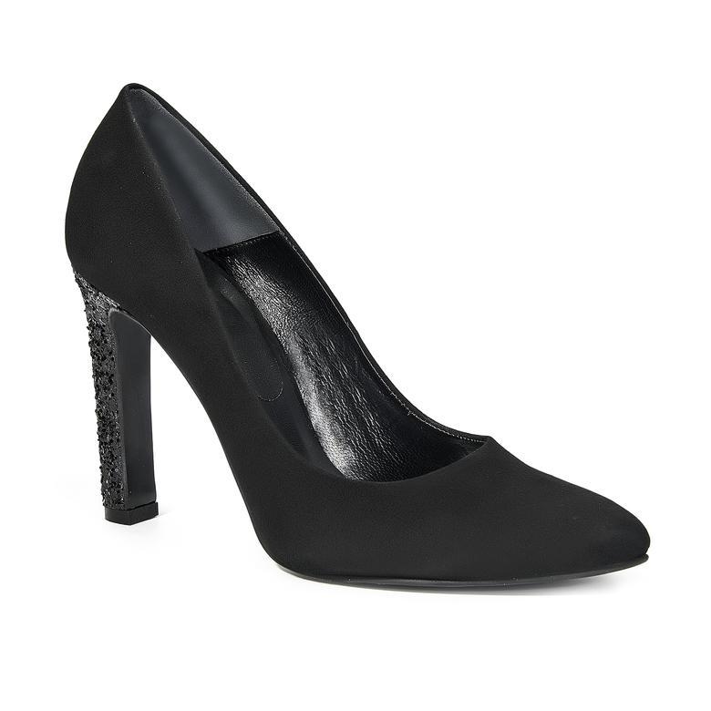 Kadın Deri Klasik Süet Ayakkabı 2010039972002