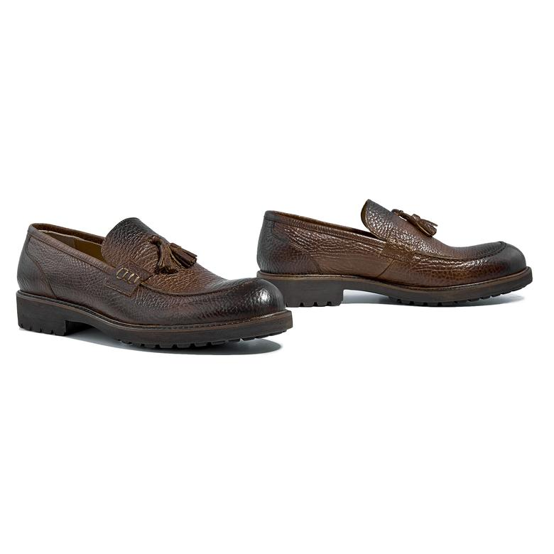 Fotu Erkek Günlük Deri Ayakkabı 2010039976007