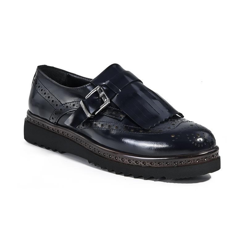Kadın Günlük Deri Ayakkabı 2010039998008