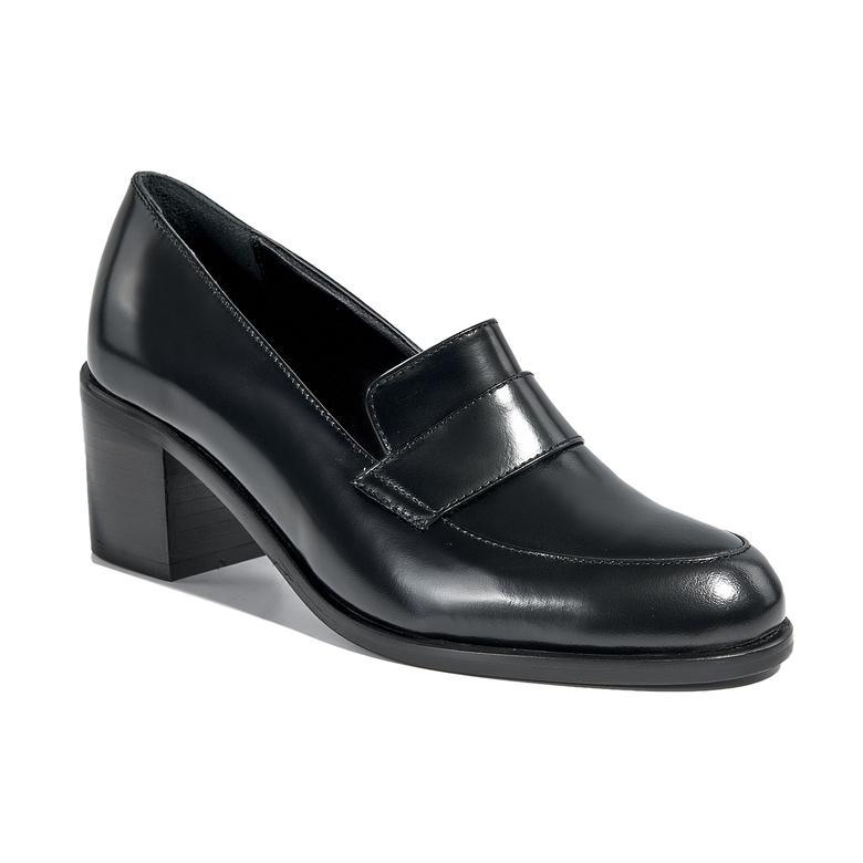 Kadın Klasik Deri Topuklu Ayakkabı 2010039999001