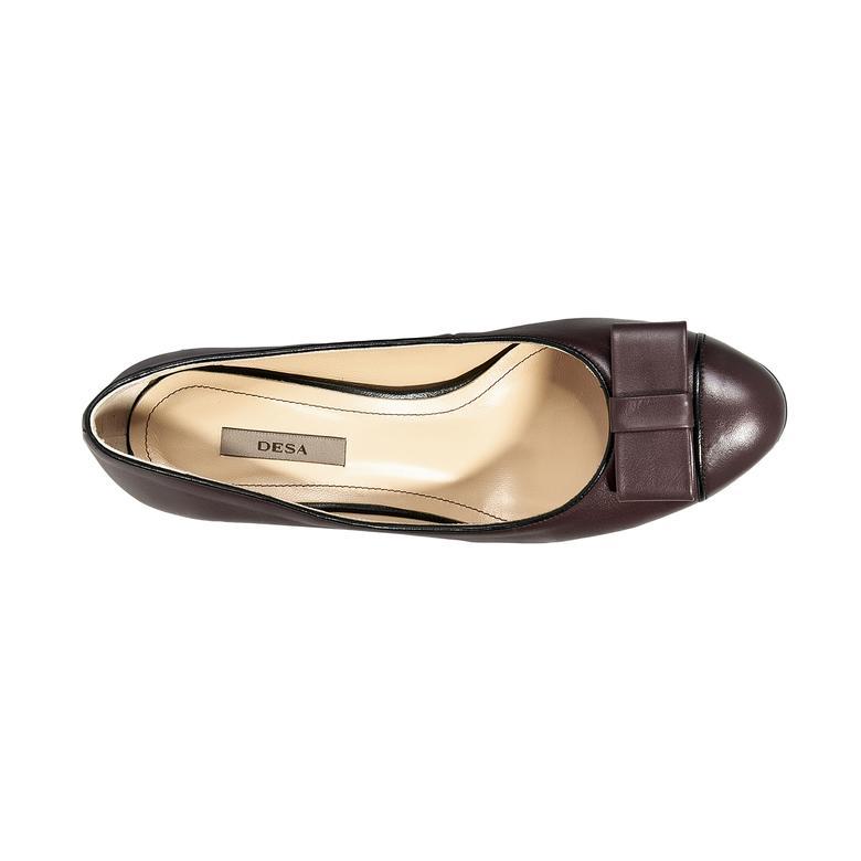 Kadın Klasik Deri Topuklu Ayakkabı 2010040000007