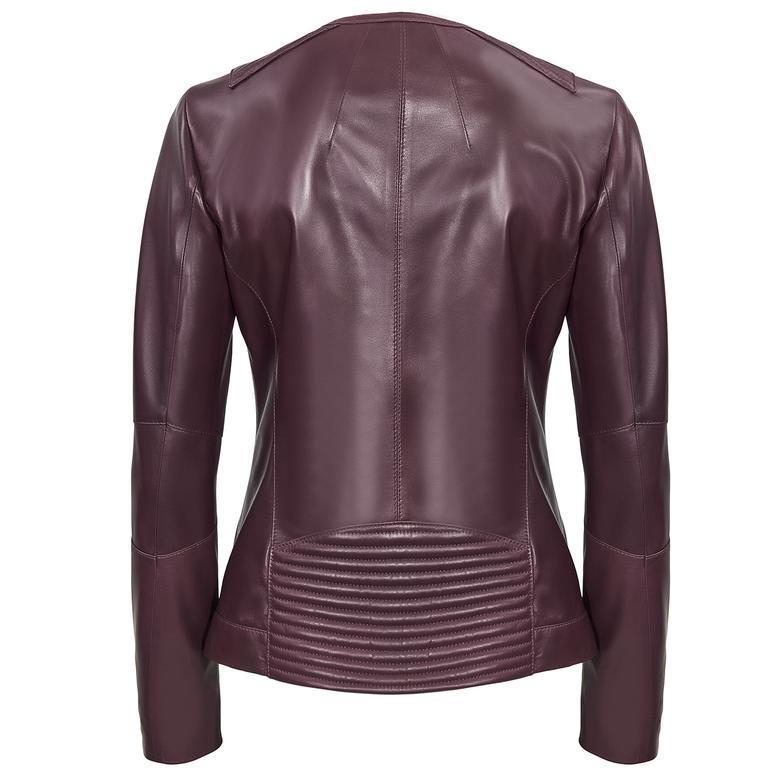Pauline Kadın Deri Ceket