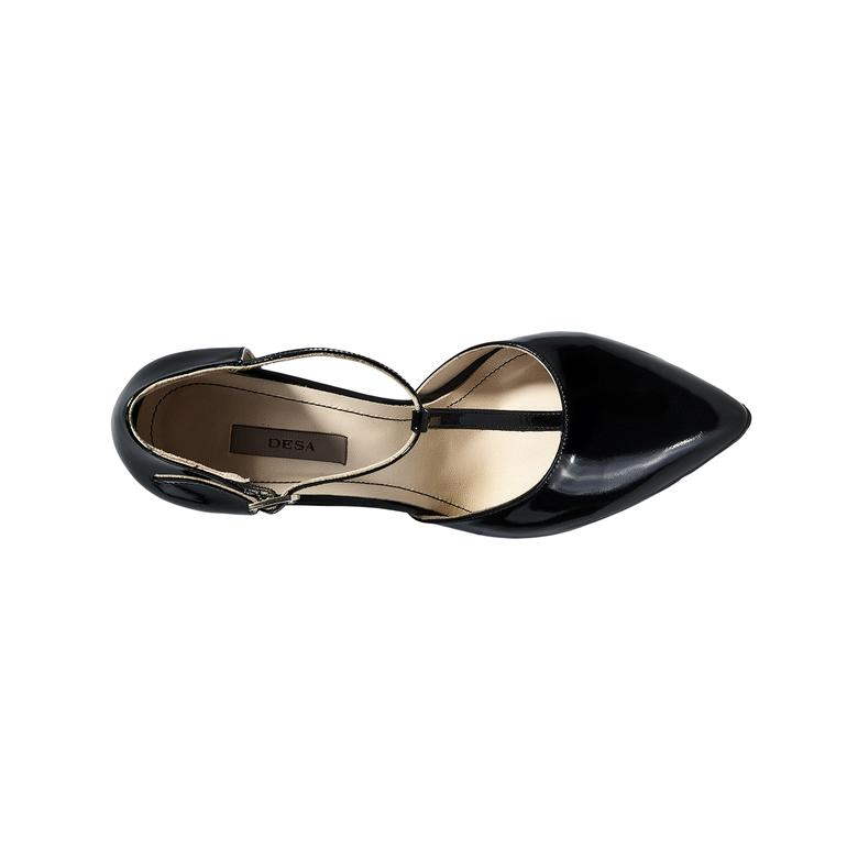 Kadın Klasik Rugan Topuklu Ayakkabı 2010040205001