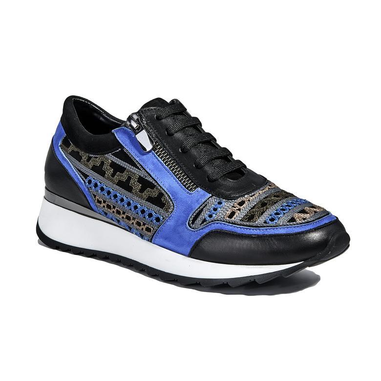 Kadın Deri Nubuk Spor Ayakkabı 2010040302002