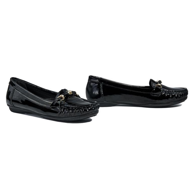 Kadın Deri Günlük Rugan Ayakkabı