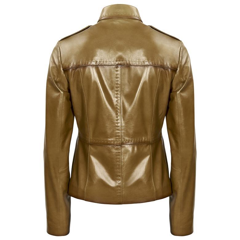 Camilie Kadın Deri Ceket