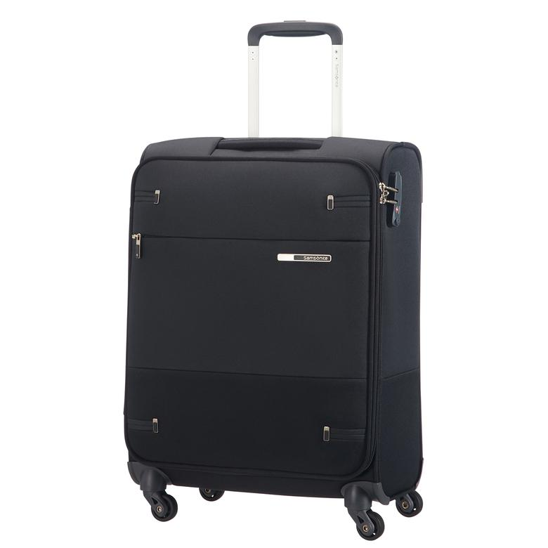 Samsonite Base Boost - 55 cm Kabin Boy Kumaş Valiz
