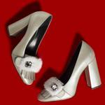 Furry Kadın Deri Klasik Ayakkabı
