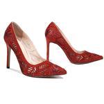 Taşlı Kadın Abiye Ayakkabı
