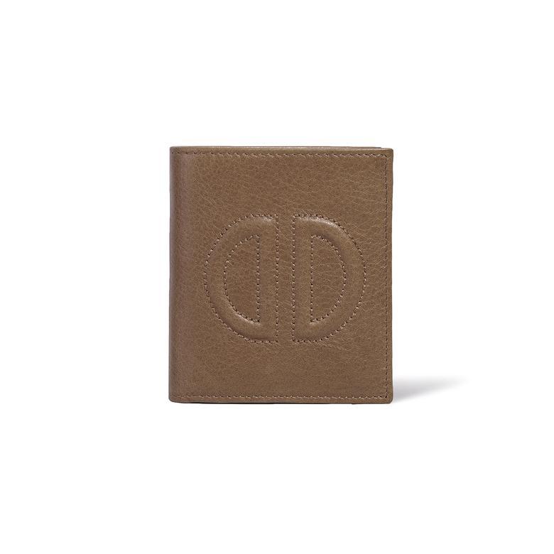 D Logolu Kadın Deri Cüzdan 1010022018006