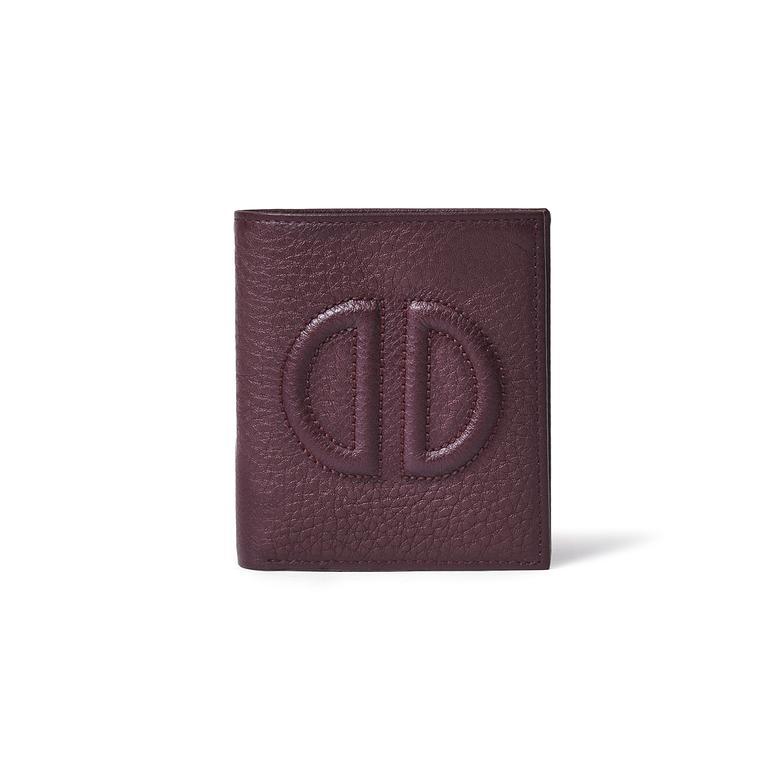 D Logolu Kadın Deri Cüzdan 1010022018002