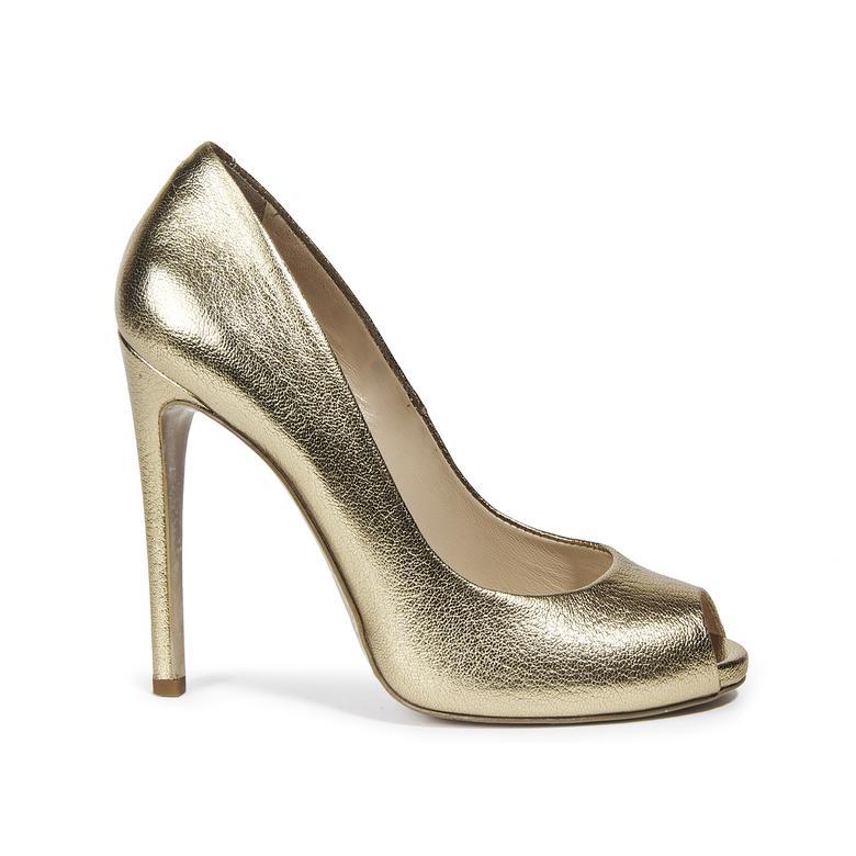 Eva Kadın Deri Abiye Ayakkabı