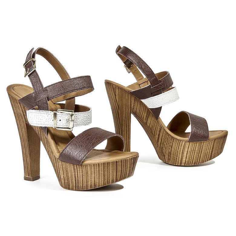 Megan Kadın Deri Sandalet