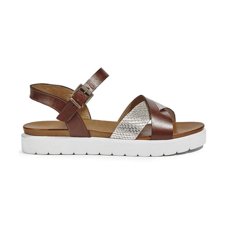 Keith Kadın Deri Sandalet 2010039207006