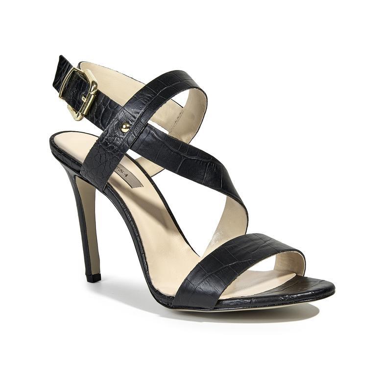 Allison Kadın Topuklu Deri Sandalet 2010039416010