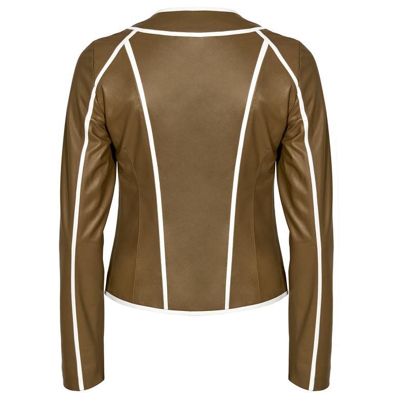 Leoma Kadın Deri Ceket