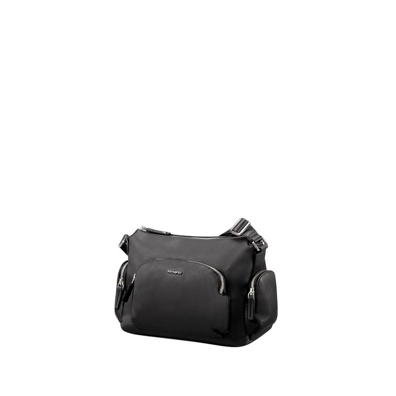 Samsonite SCA3-002 SAMARA-SHOULDER BAG S, BLACK, -