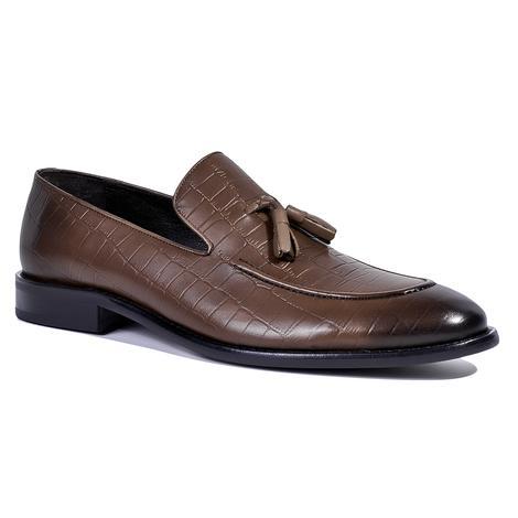 Cliff Erkek Deri Klasik Ayakkabı 2010039509012