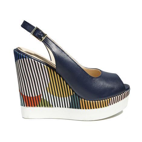 Celeste Kadın Dolgu Topuk Sandalet 2010040789006