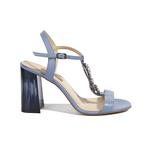Bethel Kadın Deri Topuklu Sandalet 2010041012010