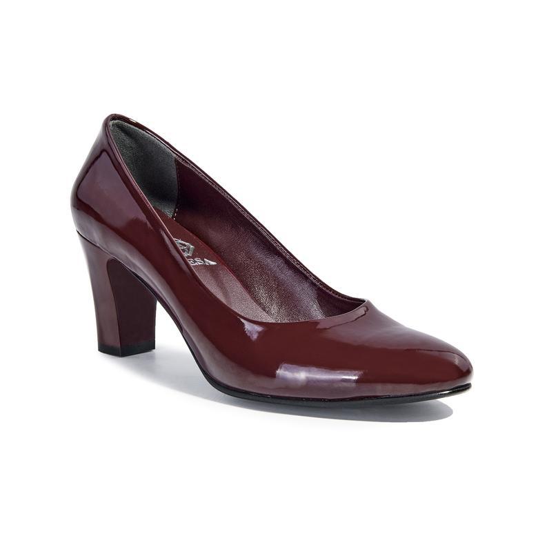 Kadın Rugan Klasik Ayakkabı