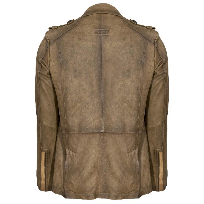 Karl Vintage Erkek Deri Ceket 1010023328001
