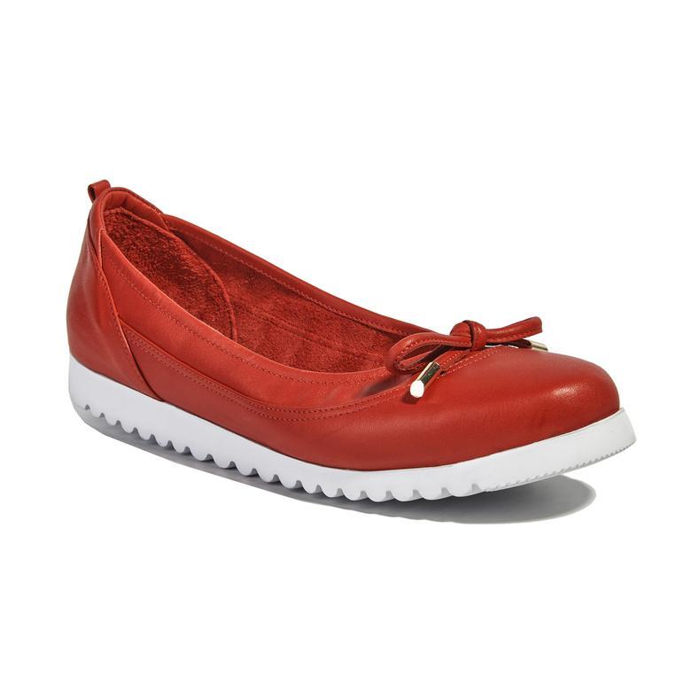 Lulu Deri Kadın Günlük Ayakkabı