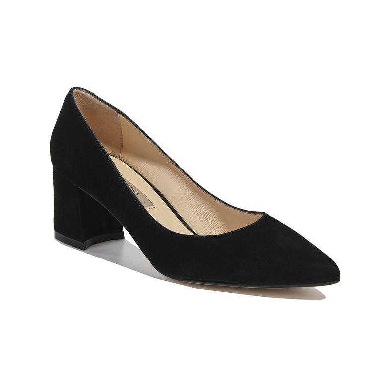 Pike Süet Kadın Deri Klasik Ayakkabı
