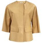 Herera Kadın Süet Deri Ceket