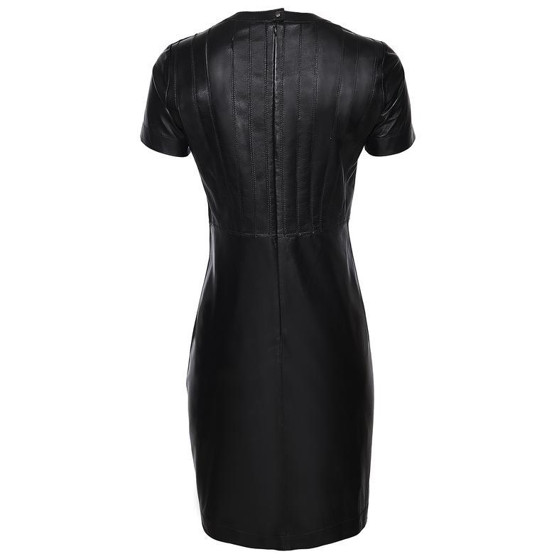 Regina Kadın Panelli  Kısa Kollu Elbise