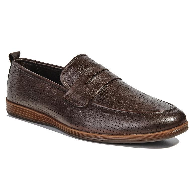 Deri Erkek Günlük Ayakkabı 2010040737002