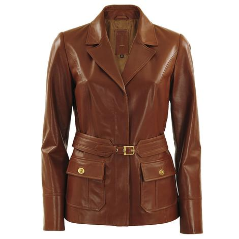 Ginger Kadın Deri Ceket 1010002129002
