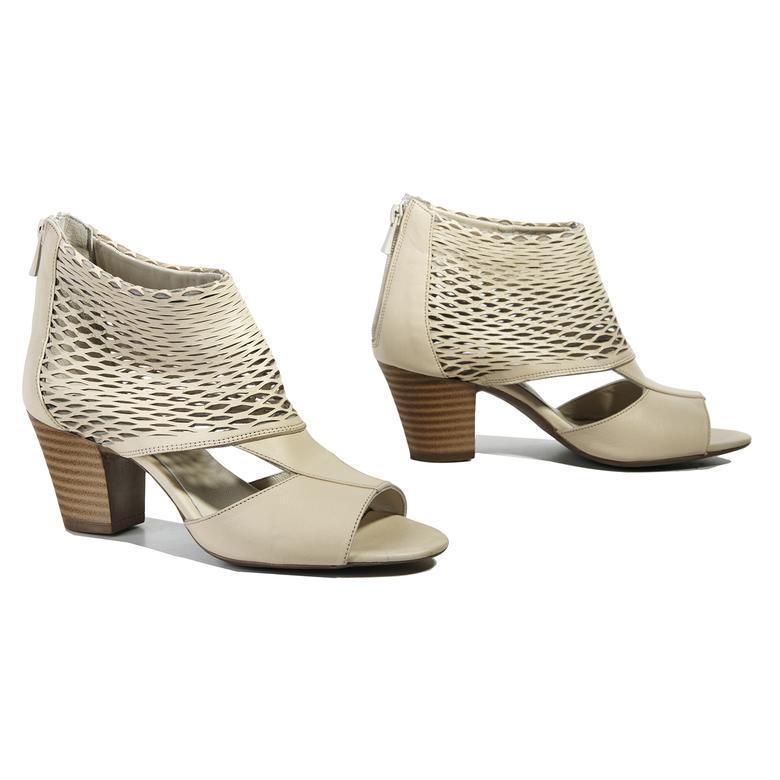Malon Kadın Deri Bootie Sandalet