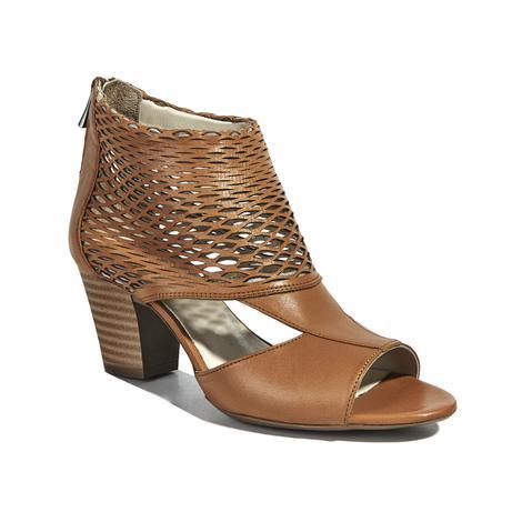 Malon Kadın Deri Bootie Sandalet 2010040691008