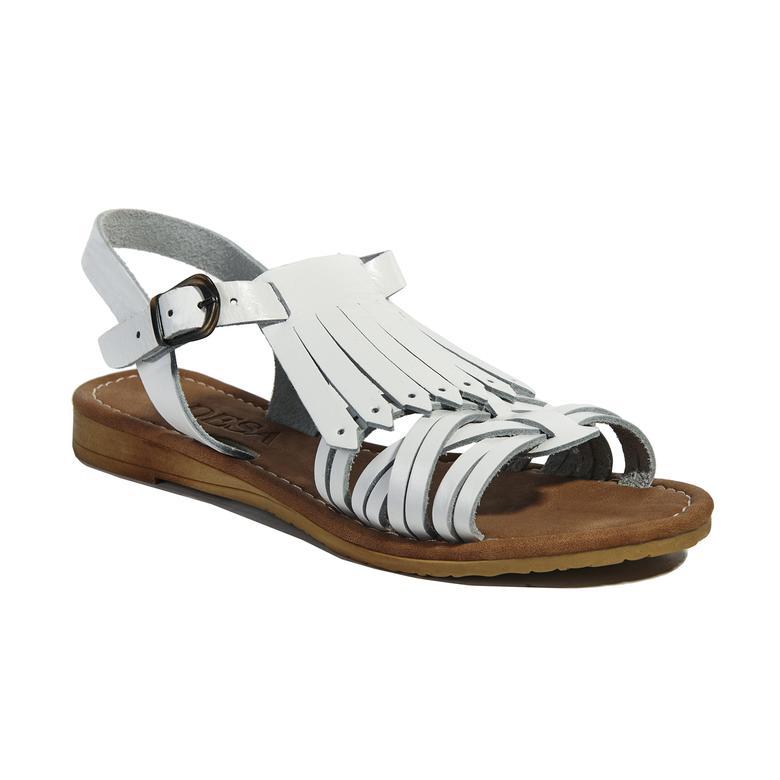 Kadın Deri Sandalet 2010040706013
