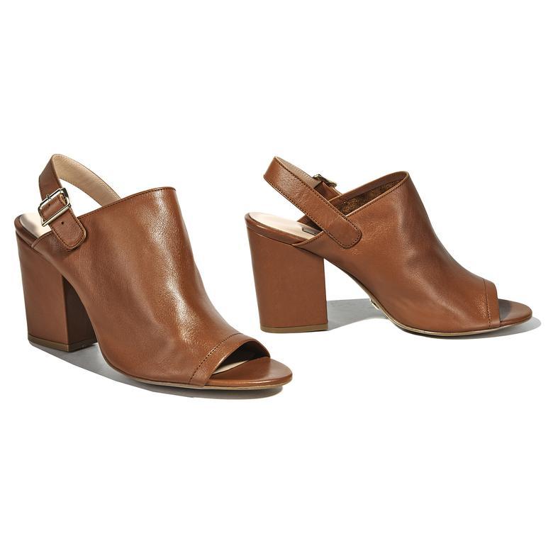 Vans Kadın Deri Bootie Sandalet
