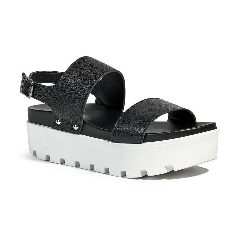 Laura Kadın Kalın Tabanlı Sandalet 2010039492001