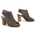 Ohio Kadın Deri Bootie Sandalet